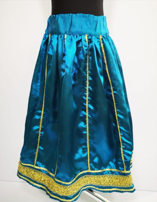 turkusowa spodnica
