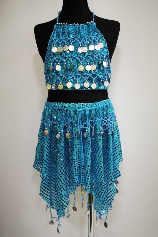 niebieska tancerka